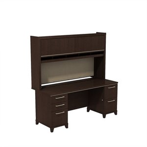 Bush Business Enterprise Office Set in Mocha Cherry