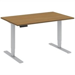 Bush BBF 48W x 30D Height Adjustable Table Kit in Modern Cherry