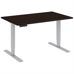 Bush BBF 48W x 30D Height Adjustable Table Kit in Mocha Cherry