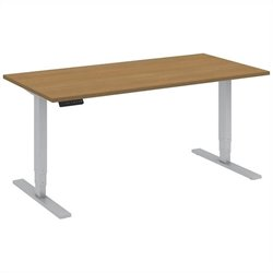Bush BBF 60W x 30D Height Adjustable Table Kit in Modern Cherry