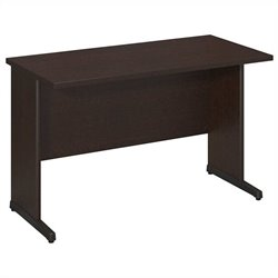 Bush BBF Series C Elite 48W x 24D C-Leg Desk in Mocha Cherry