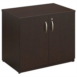 Bush BBF Series C Elite 36W Storage Cabinet in Mocha Cherry