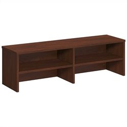 Bush BBF Series C Elite Desk Top Organizer in Hansen Cherry