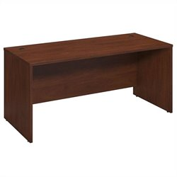 Bush BBF Series C Elite 66W x 30D Desk Shell in Hansen Cherry