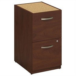 Bush BBF Series C Elite 16W 2 Drawer Pedestal in Hansen Cherry
