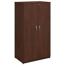 Bush BBF Series C Elite 36W Storage Wardrobe Tower in Hansen Cherry