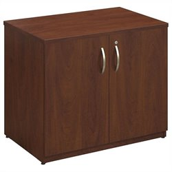 Bush BBF Series C Elite 36W Storage Cabinet in Hansen Cherry