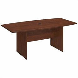 Bush BBF Series C 72Lx36W Boat Top Conference Table in Hansen Cherry