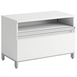 Bush Business Furniture Momentum 36W x 24H Piler-Filer in White