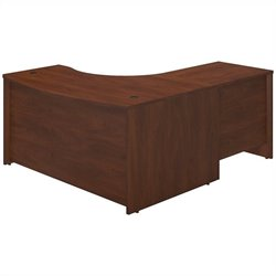 Bush Business Furniture Series C Elite LH Corner Desk Hansen Cherry