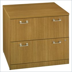 Bush BBF Quantum 36W 2Dwr Lateral File in Modern Cherry
