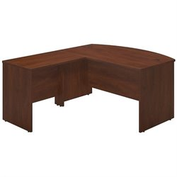 Series C Elite 60W x 36D Bowfront Desk Shell with 36W Return