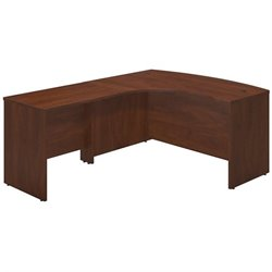 Series C Elite 60W x 43D Left Hand Bowfront Desk Shell with 36W Return