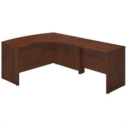 Series C Elite 60W x 43D Right Hand Bowfront Desk Shell with 42W Return