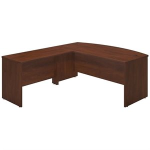 Series C Elite 72W x 36D Bowfront Desk Shell with 48W Return