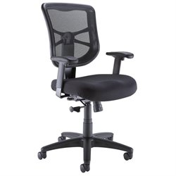 Bush Business Furniture Commercial Mesh Back Office Chair in Black
