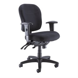 Bush BBF Commercial Deluxe Multi Function Office Chair in Black