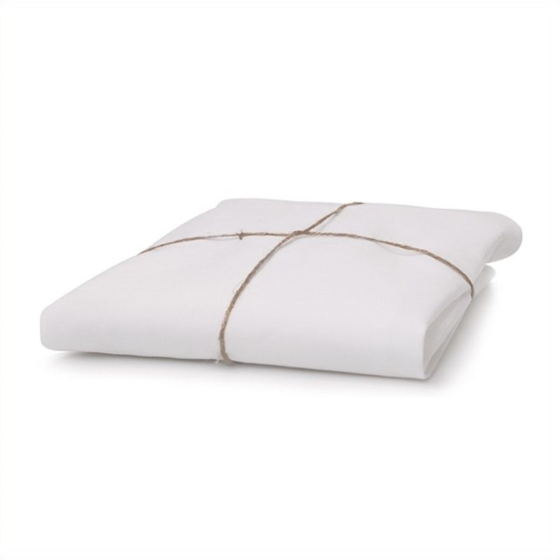 Pure by Babyletto Coco Core Dry Organic Crib Mattress with White Cover
