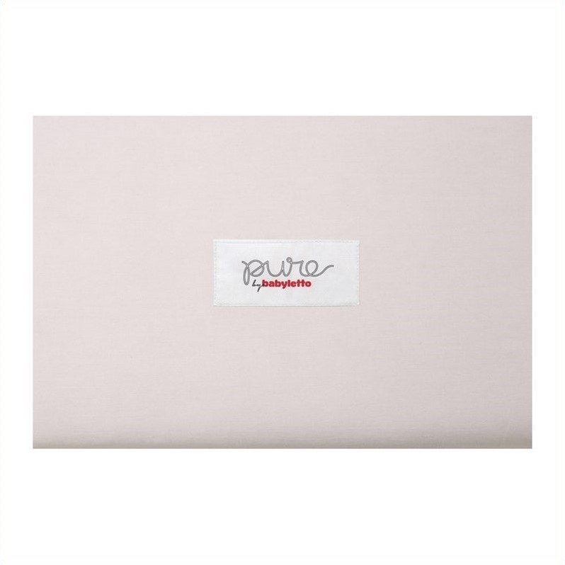 Pure by Babyletto Coco Core Non-Toxic Crib Mattress with Dry and Organic Cotton Covers