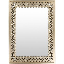 Surya Becklin Wall Mirror in Gold