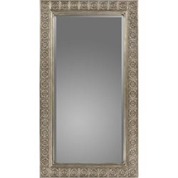 Surya Bennett Wall Mirror in Silver