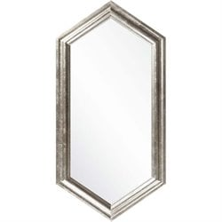 Surya Wall Mirror in Champagne