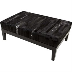 Surya Trail Hide Bench in Black