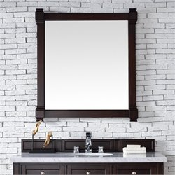 James Martin Brittany Mirror in Burnished Mahogany