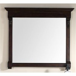 James Martin Brookfield Mirror in Burnished Mahogany