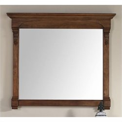 James Martin Brookfield Mirror in Country Oak