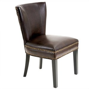 Trent Home Thelma Accent Dining Chair in Brown