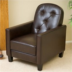 Noble House Penn Recliner in Brown