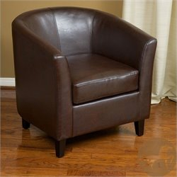 Trent Home Histoire Club Chair in Brown