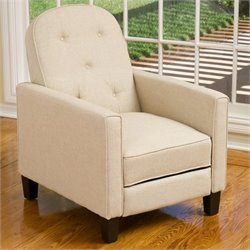 Noble House Albany Recliner in Beige