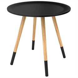 Dar Styx Side Table in Black
