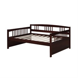 Dorel Living Morgan Full Daybed in Espresso