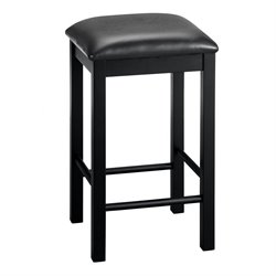 Dorel Living Devyn 3 Piece Faux Marble Top Pub Set in Black