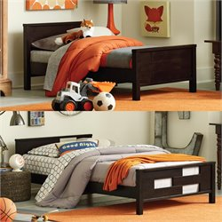 Baby Relax Toddler to Twin Convertible Bed in Espresso
