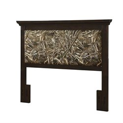 Dorel Living Realtree Full Queen Headboard in Coffee Bean