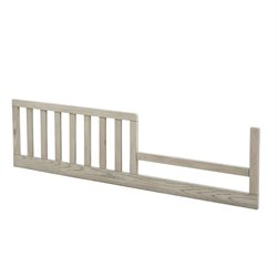 MonBebe Everett Toddler Bed Guard Rail in Antique Gray