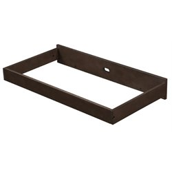 Eddie Bauer Hayworth Changing Table in Weathered Walnut
