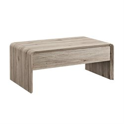Dorel Living Maddie Lift Top Coffee Table in Rustic Oak