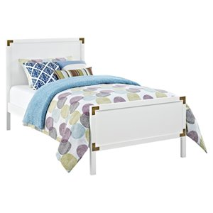 Dorel Living Miles Twin Panel Bed