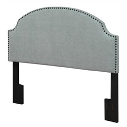 Dorel Living Panel Headboard in Blue