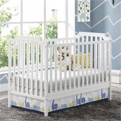 Baby Relax Willow 2 in 1 Convertible Crib