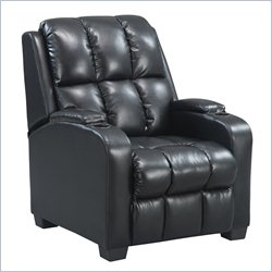 Dorel Living Home Theater Recliner - Black