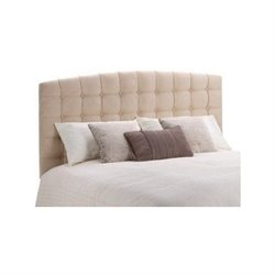 Dorel Living Queen or Full Torino Tufted Panel Headboard in Beige