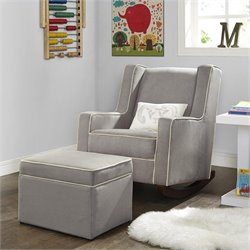Dorel Asia Baby Relax Abby Rocker in Dark Taupe