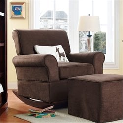 Dorel Asia Baby Relax Mackenzie Rocker in Chocolate