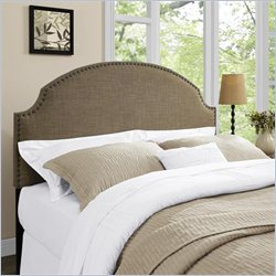 Dorel Asia Dorel Living Skylar Panel Headboard in Brown